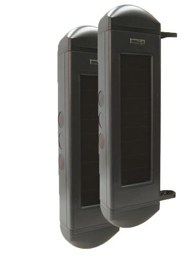 Dakota infrarood lichtsluis met zonnepanelen BBT-2500