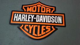 Wandbord Harley Davidson