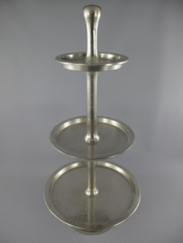 Etagère aluminium drie lagen