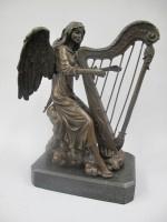Engel met harp