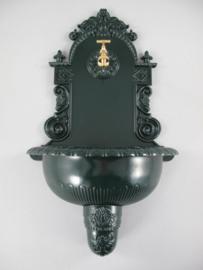 Wand fontein wit groen bruin