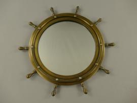 Spiegel   wandspiegel koper
