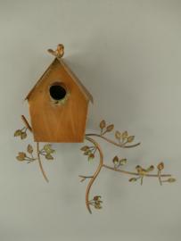 Vogelhuis roest