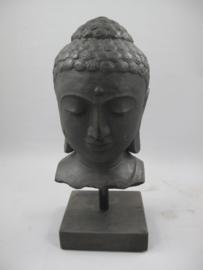 Buddha betonblok ironcoloured H.51x25cm