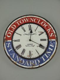 Wandklok  OLd Towncloks
