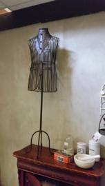 Mannequin ijzer bruin man