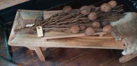 Houten schaal tray