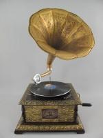 Grammofoon verguld