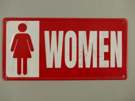 Wandbord Toilet Women