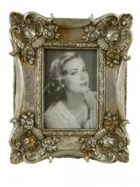 Fotolijst zilver polysteen