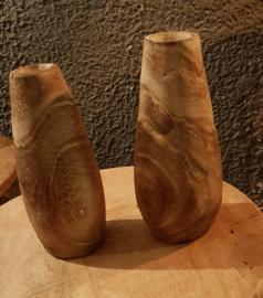 Vaas hout retro style
