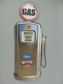 Gas pomp ijzer 80 cm