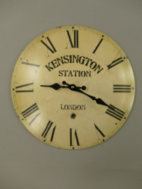 Wandklok station klok