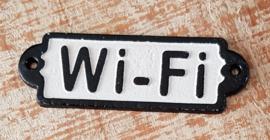 Wand bordje Wi-Fi