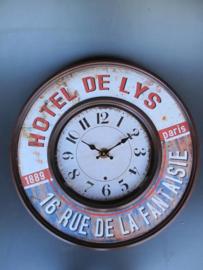 Klok HOTEL DE LYS ROUND