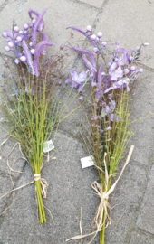 Veld bloemen paars