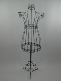 Mannequin ijzer brocant zwart