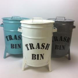 Emmer/Trash Bin Wit