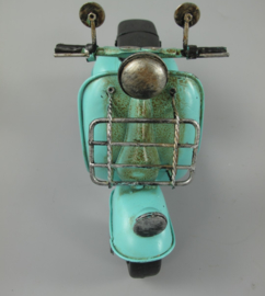 Scooter blauw