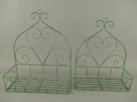 Planten hangers rustiek groen