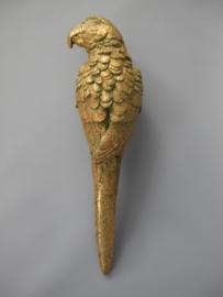 Papegaai goud links