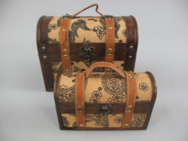 Koffertjes vintage look