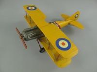 Vliegtuig retro  geel Aircraft