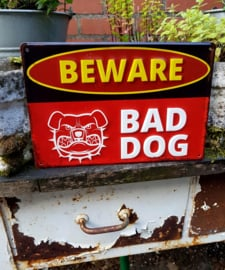 Bad Dog wandbord
