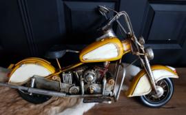 Motor geel groot model