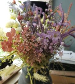 Veld bloemen roze