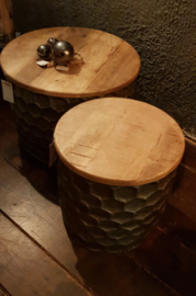 Tafel salontafel bijzet tafeltje