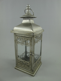 Lantaarn antiek zilver