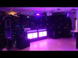 Huur Blacklight bar 2x  met draadloze afstandbediening