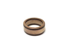 Houten Ring - Bamboe Wengé Padoek Kersen