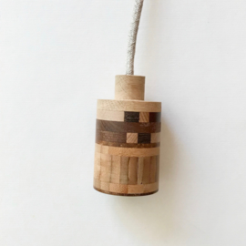 Houten lamp - fitting Kas