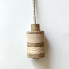 Houten lamp - fitting Sinne