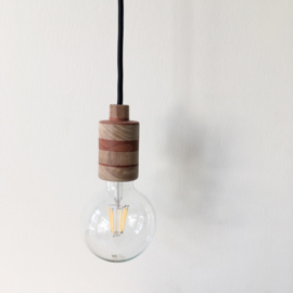 Houten lamp - fitting Suus