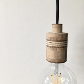 Mooi.Lamp - BELLE - houten fitting