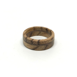ZEBRANO NOTEN - HOUTEN RING