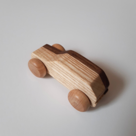 Houto Panda- houten speelgoedauto