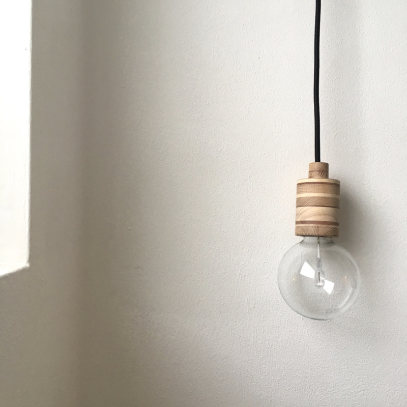 MOOI.LAMP - NOVI - houten fitting