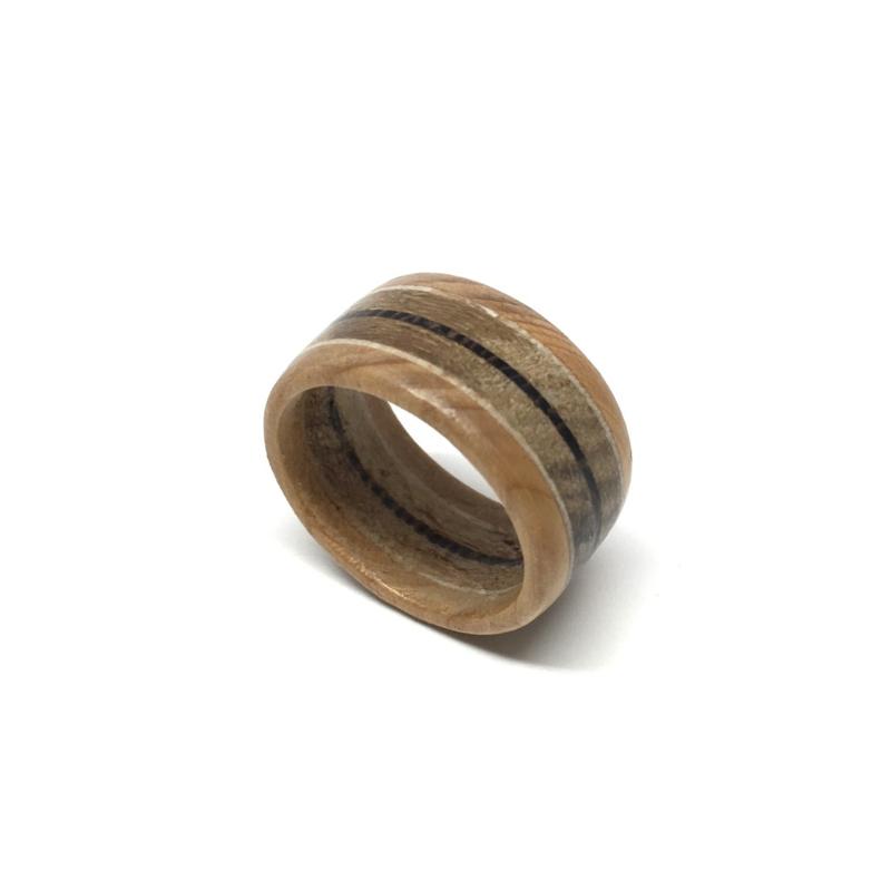 Esdoorn Taxus Teak Wengé - Houten Ring