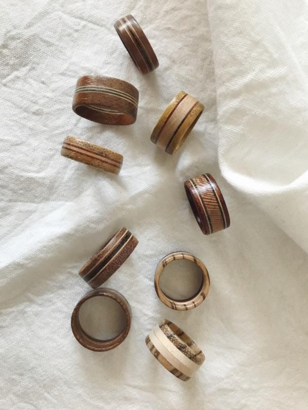 WORKSHOP - Houten Ring Maken (2 uur)