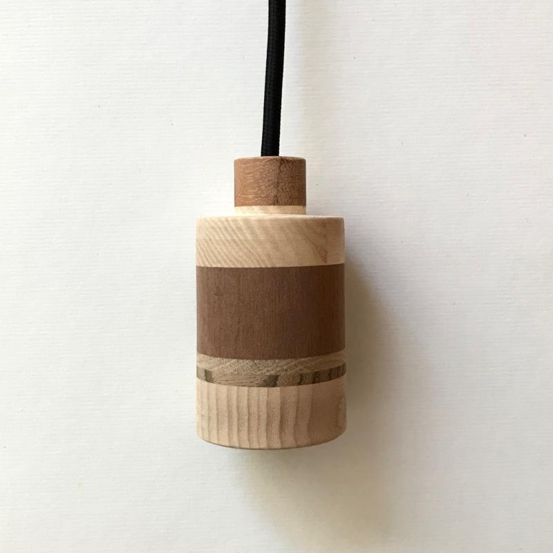 Houten lamp - fitting Wiep