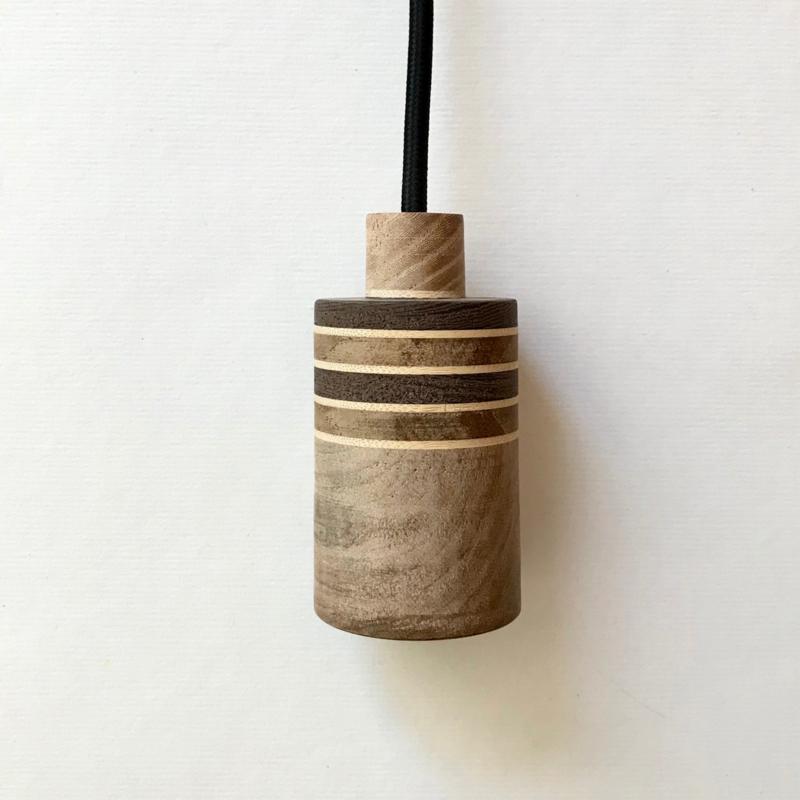 Houten lamp - fitting Tobin