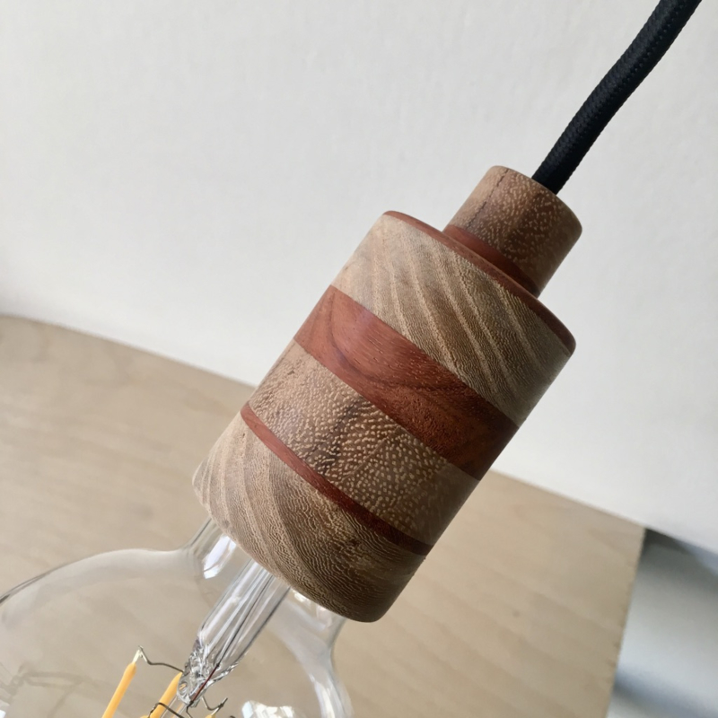 Mooi.Lamp - SUUS - houten fitting