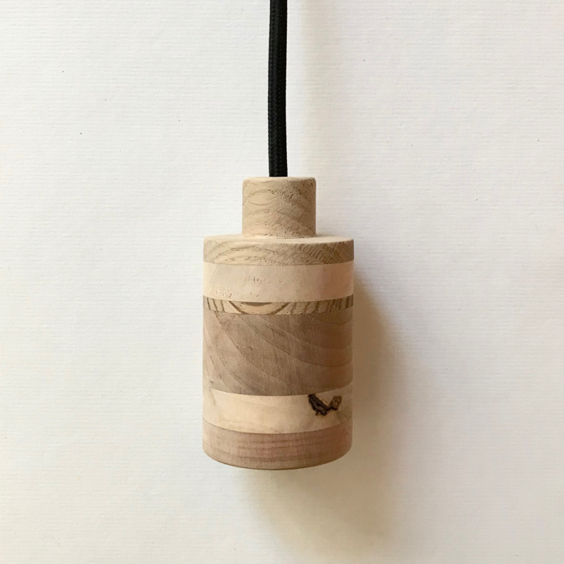 Houten lamp - fitting Vita
