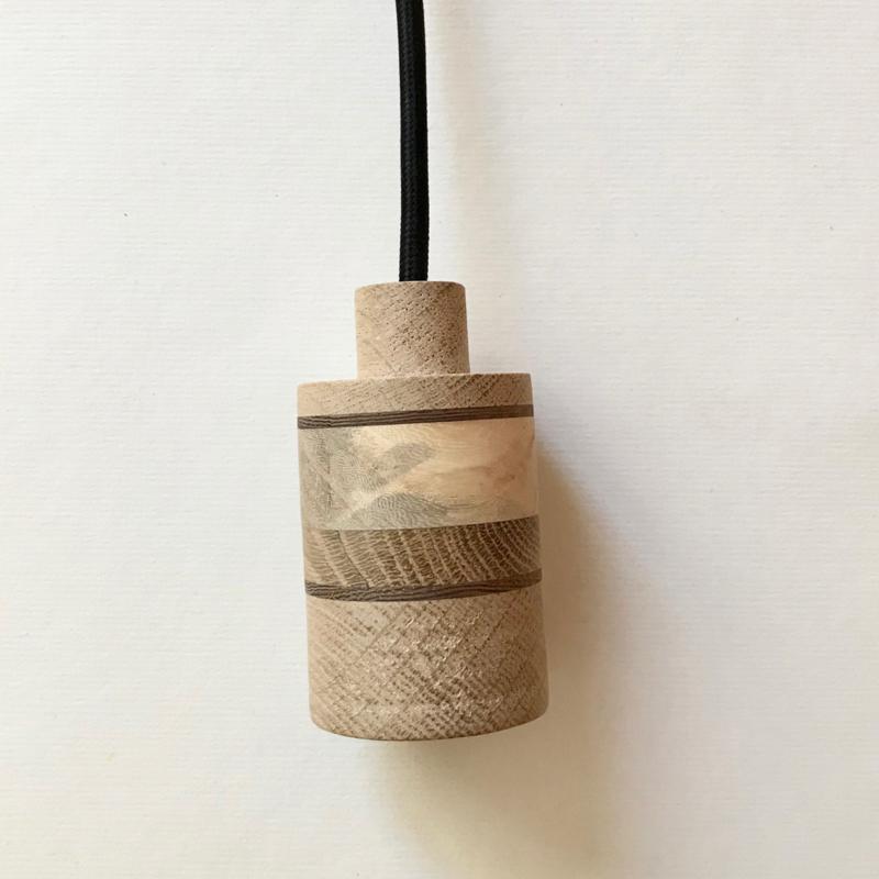 Houten lamp - fitting Daaf