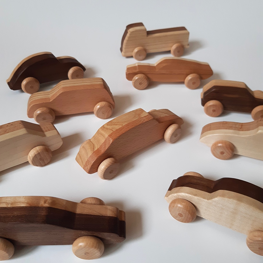 Houten speelgoedauto Houto
