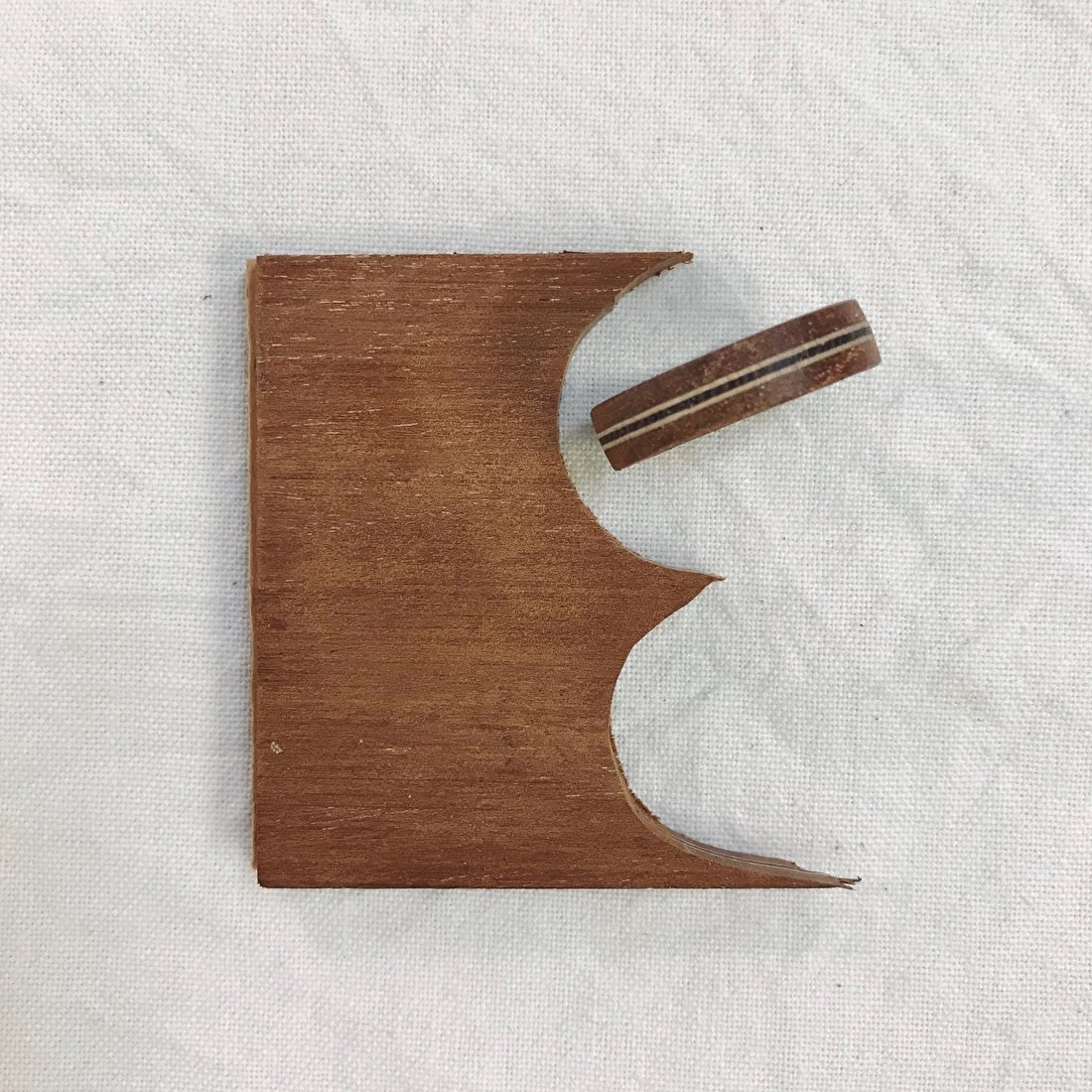 houten ring studio mooibos